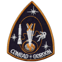 Larger Size NASA Gemini 11 Space Mission Embroidered Patch